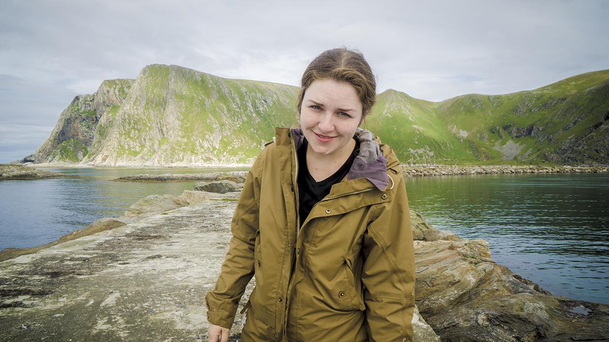 Portrett på Sørøya